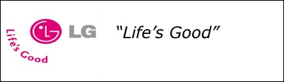 LG slogan